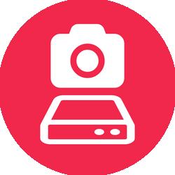 Camera and Harddrive